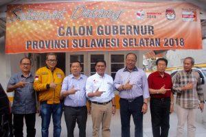 Kembalikan Formulir Pendaftaran Calon Gubernur Partai Hanura SulSel