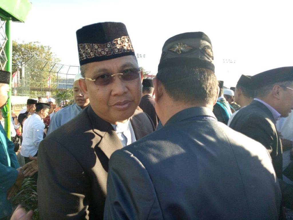 Bro Rivai Shalat Iedul Adha Bersama Para Balon Pemimpin di Karebosi