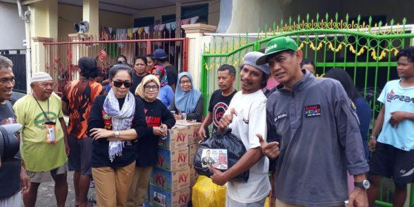 Bro Rivai Bantu Korban Banjir di Antang