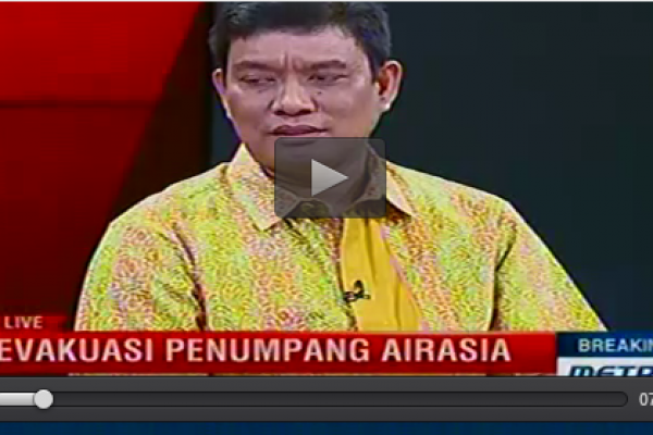[Breaking News Metro TV] Bro Rivai: Evakuasi Penumpang Air Asia