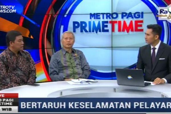 [Prime Time News Metro TV] Bro Rivai bersama Dirjen Perhubungan Laut