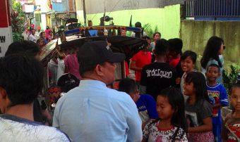 Rivai Ras Menyapa Warga Lorong Sungai Saddang Makassar