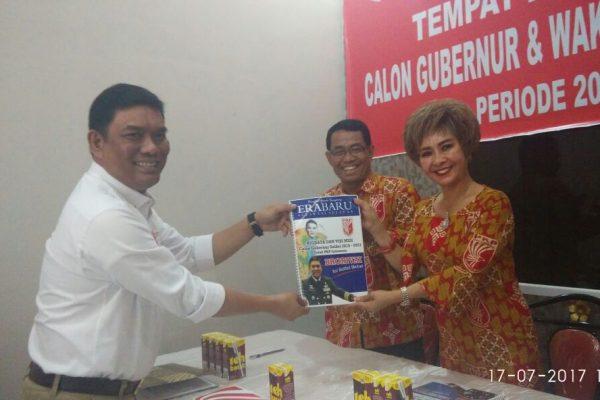 Pengembalian Formulir Pendaftaran Cagub PKPI oleh Bro Rivai