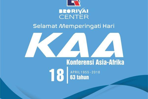 Selamat Hari Konferensi Asia Afrika (KAA) ke 63