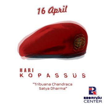 Selamat hari Ulang Tahun Kopassus ke -66, Baret Merah Semakin Jaya